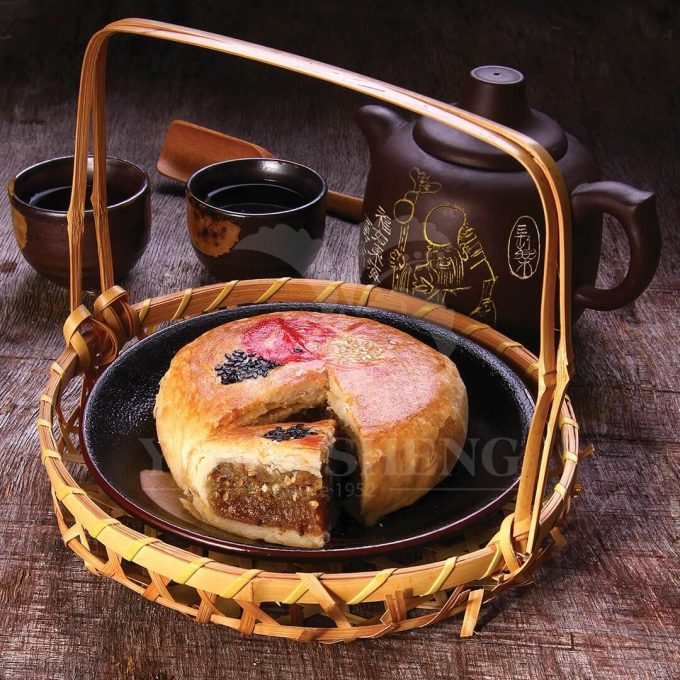 Hand Crafted Pastry Teochew Delight-Mui Tang Cai