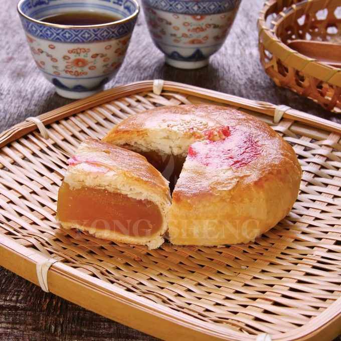 Hand Crafted Pastry Teochew Delight-White