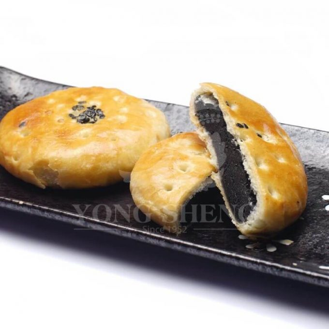 Hand Crafted Pastry Wife Cake-Black Sesame