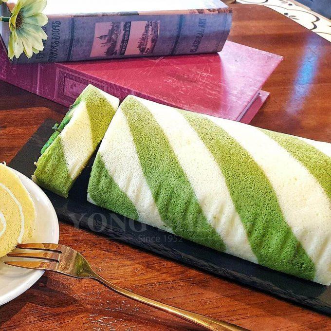 YS-Green Tea Swiss Roll